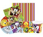 LOONEY TUNES Party Pack {Tablecover/Cups/Plates/Napkins} (Birthday/Bugs Bunny)