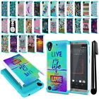 For HTC Desire 530 630 Hybrid Bumper Shock Proof Hard TPU Case Cover + Pen