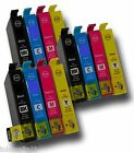 3 Sets of 4 (Multipack) Inkjet Cartridges Compatible With Lexmark No 100  100XL