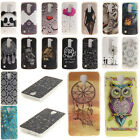Patterned Ultra Slim Rubber Soft TPU Silicone Back Case Cover Skin For LG Phones