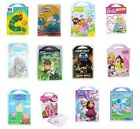 CHARACTER CARRY PACK Sticker/Colour/Create/Kits/Sets/Kids/Gift/Pad/Play/Activity