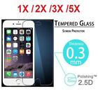 Premium Tempered Glass Screen Protector Film Guards for Apple iPhone 5/6/7/7Plus