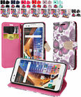 PU Wallet Case Cover w/Strap & CC Slot For LG Tribute HD / LG X Style Phone