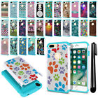 "For Apple iPhone 7 Plus 5.5"" Hybrid Bumper Shock Proof Hard TPU Case Cover + Pen"