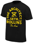 WWE SETH ROLLINS The Man The Architect OFFICIAL VINTAGE T-SHIRT