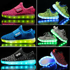 Children Kids Boy/Girl Casual Luminous Sneakers Running Shoes Led Light Up Shoes