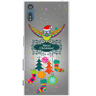 Merry Christmas Christmas Decorations Hard Back Case Cover for Sony Xperia XZ