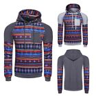 Men's Winter Slim Hoodie Warm Hooded Sweatshirt Coat Jacket Outwear B20E