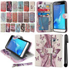 For Samsung Galaxy J3 J310 J320/ J3 V/ Sky S320 Flip Wallet Case Cover + Pen