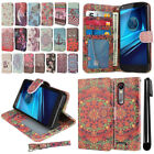 For Motorola Droid Turbo 2 Kinzie XT1585/ X Force Flip Wallet Case Cover + Pen
