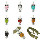 3pcs/lot Owl Resin Pendant for Jewellery Scarf Charm, Owl Scarf Charm, PT-390