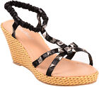 PYRAMID Studded Keilabsatz Retro SANDALETTEN Wedges Rockabilly
