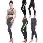 High Waist Women's Fitness Leggings Athletic Gym Athletic Sports Pants Trousers