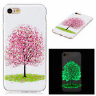 Cherry Luminous Glow In The Dark Fluorescence Soft TPU Case Cover For Celephones