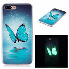 Magical Night Light Pretty Butterfly Luminous Glow In Dark Case For Celephones