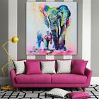 Modern Hand-painted Art Oil Painting Abstract Wall Decor Elephant on Canvas - LD