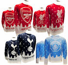Official Football Club WEIHNACHTS PULLOVER S/M/L/XL Schnee/Tree/Wappen (