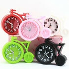 Creative Bicycle Design Alarm Clock Desk Clock Mute Students Office Home Gifts
