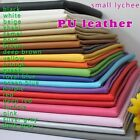 Small lychee PU leather fabric,faux leather car Upholstery interior leather