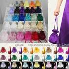 Satin dolly bag handbag purse for party ball evening prom fancy cocktail dress