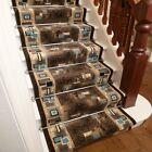 Amuse Brown - Stair Carpet Runner For Narrow Staircase Modern Quality Cheap New