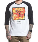 SULLEN CLOTHING Gogue Dragon Tattoo Art Raglan T-Shirt White Black S-3XL NEW