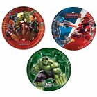 8 PAPER PLATES (20cm) Licensed MARVEL Characters (Party/Birthday/Tableware)