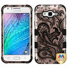 For Samsung Galaxy J7 2015 Hybrid TUFF IMPACT Phone Case Hard Rugged Cover
