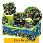 NINJA TURTLES Birthday Party Range (Tableware & Decorations) 2016 Amscan