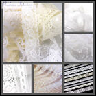 Antique Lace Vintage Trimming White Ribbon Trim Wedding Bridal Sewing fabric sew