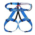 New Sit Harness Outdoor Rock Climbing Mountaineering Rappelling Safety Belt+Bag