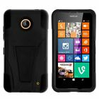 For Nokia Lumia 635   630 Dual Layer Protective Case with Built-in Kickstand