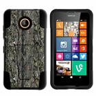 For Nokia Lumia 635 | 630 Dual Layer Protective Case with Built-in Kickstand