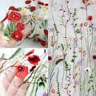 "1.5 M New Customized Embroidery Mesh Bridal Wedding Costume Lace Fabric 39"" Wide"