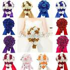 Fashion Wedding Bridal Bouquets Glitter Rose Flowers Party Home Bridesmaid Decor