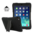 Shockproof Heavy Duty Hard Case & Stand Cover For Apple iPad 4 3 2 mini Air Pro