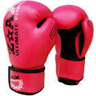 Ladies Gel Boxing Gloves Leather Punch Bag Sparring MMA Gloves Junior Girls
