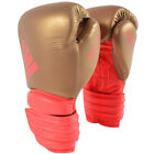 Adidas Hybrid 300 Hook and Loop Leather Training Boxing Gloves
