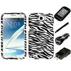 For Samsung Galaxy Note 2 N7100 Design Snap-On Hard Case Phone Cover Charger