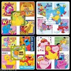 Lot of 10 Sesame Street Stickers - Your choice of Safari, Sporty, Winter or Love
