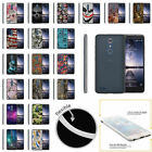 For ZTE ZMAX Pro Carry Z981 Fitted Ultra Flexible Clear TPU Case with Stylus Pen