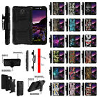 For Maven 2 (AT&T) Z831 Hybrid Dual Layer Protective Clip Case with Kickstand