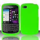 For BlackBerry Q10 Silicone Rubber Soft Grip Phone Case (Blackberry Q 10 Phone Cases)