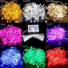 20Leds 2m Micro LED Battery Operated String Lights Silver Copper Wire Xmas SH