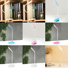 LED Reading Lamp Flexible Desk Lamp with Clip 3-level Rechargeable Light