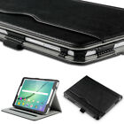 Synthetic Leather Case Hand Strap Stand Cover for Samsung Galaxy Tab S2 9.7""