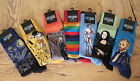 MENS HOT SOX MUSEUM ARTWORK Artist Colorful Rainbow Size 10-13 Socks You Choose