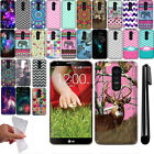 For LG G2 mini D620 Cute Design TPU SILICONE Rubber Soft Case Phone Cover + Pen