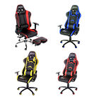 Merax High Back Racing Gaming Office Chair Computer Desk PU Leather Mesh Chair
