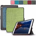 For Apple iPad Pro 9.7 Ultra Slim Premium Fabric Leather Case Smart Stand Cover